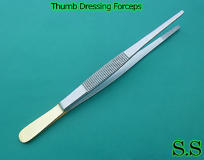 12 Tc Thumb Dressing Forceps 5.5 Surgical Instruments
