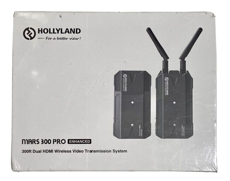 Hollyland Mars 300 Pro Enhanced Dual HDMI Wireless Video Transmission System
