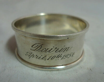 Antique Indian? Silver Napkin Ring 17g A666217