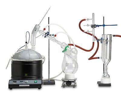 Goldleaf Scientific Premium Short Path Distillation Kit Complete Turnkey Set
