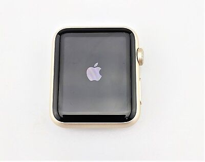 Apple Watch 1st Gen 42mm Gold Aluminum Case Good Shape