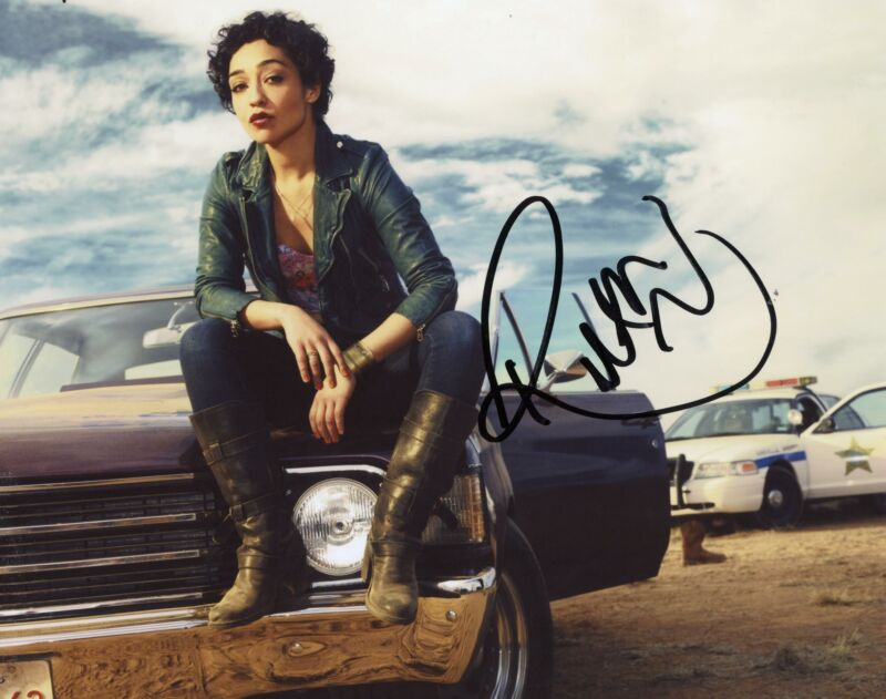 "Ruth Negga ""Preacher"" AUTOGRAPH Signed 8x10 Photo"