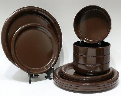 """Lebanese Mezze Melamine Small 12 Plates Size 5/"""" x 2/"""" أطباق المازة اللبنانية"""
