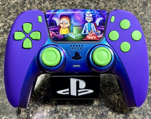 Rick And Morty Themed Ps5 PlayStation 5 Controller Sony DualSense - $165.00