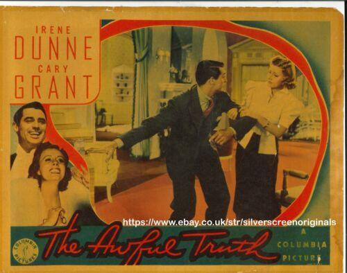 Awful Truth ORIGINAL US Lobby Card Irene Dunne Cary Grant 1937
