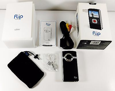 Flip U1120B Ultra HD Video Camera 2nd Generation, 4GB, 2 Hours Recording Time