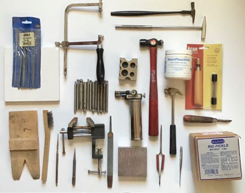 Metalsmithing Jewelry Tool Kit-Used