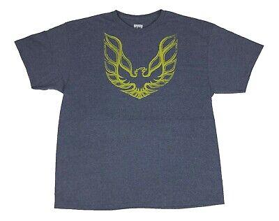 GM Pontiac Classic Firebird Logo Vintage Muscle Car Racing Mens T Shirt X-Large