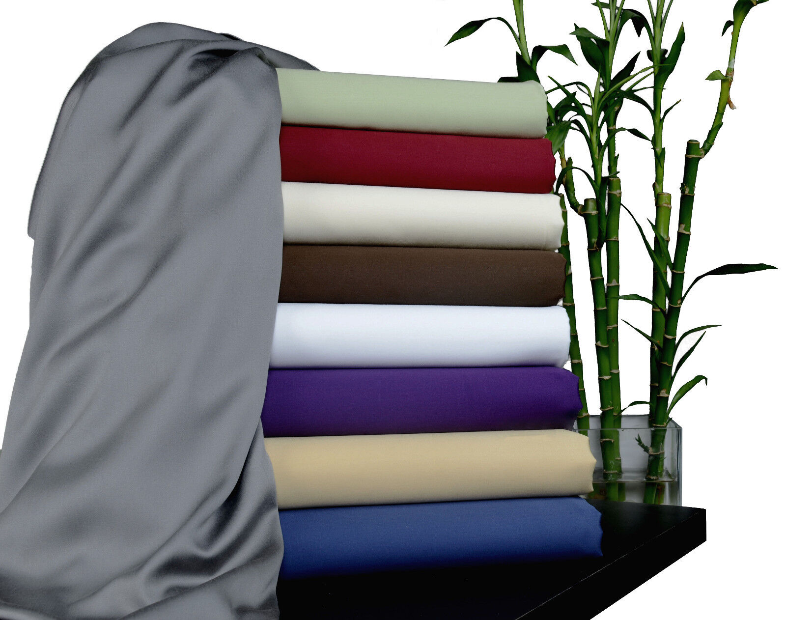 100% Rayon from Bamboo Sheet Set NEW Bedding