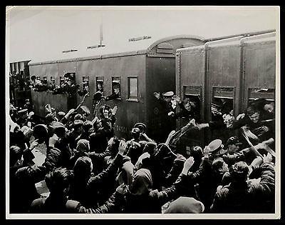 Press-Photo Foto 1955 UDSSR Abzug Räumung Flottenstützpunkt Port Arthur