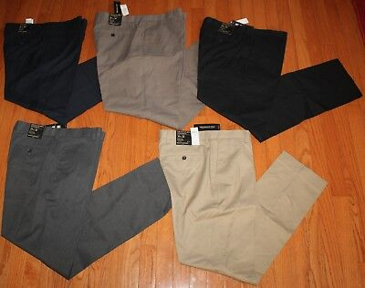 NWT Mens Banana Republic Stretch Non-Iron Standard Fit Dress Pants 5 Colors - Banana Republic Dress Pants