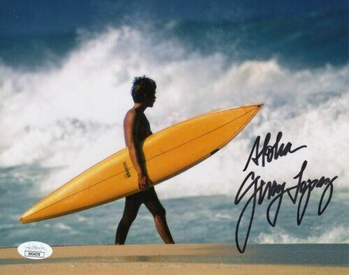 Gerry Lopez Autograph Signed 8x10 Photo - Conan the Barbarian/Surfer (JSA COA)