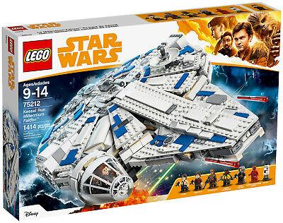 Lego Star Wars 75212 Kessel Run Falcon Millenium Falcon 100% New New Sw
