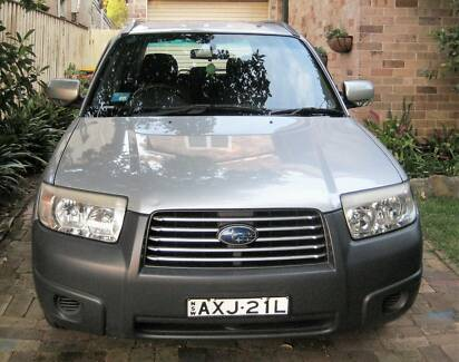 2006 Subaru Forester Chatswood Willoughby Area Preview