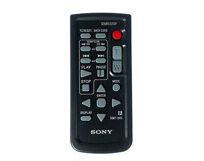 Original Sony Rmt-845 Kabellos Infrarot Fernbedienung Control Schwarz Fs5 X200 (Sony Camcorder Infrarot)