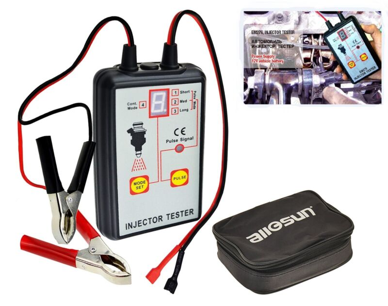 Automotive Injector Tester Diagnostic Tool 4 Pulse Modes Powerful Fuel System