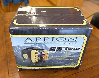 Appion G5 Twin Refrigerant Recovery Machine - Old Stock - New In Box