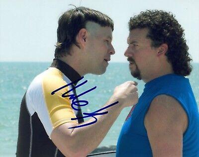 Ike Barinholtz Signed Autographed 8x10 Photo EASTBOUND AND DOWN COA AB