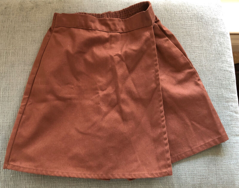 Girl Scout Brownie Skort Size Small