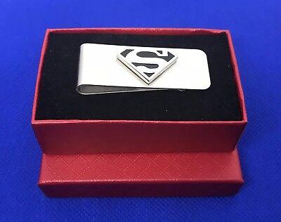 Superman Money Clip Superhero Gift Idea Wedding Groom NEW (Superhero Wedding)