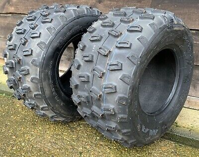Brand New Pair of Rear Off Road Maxxis Quad Bike Tyres  20x10x9