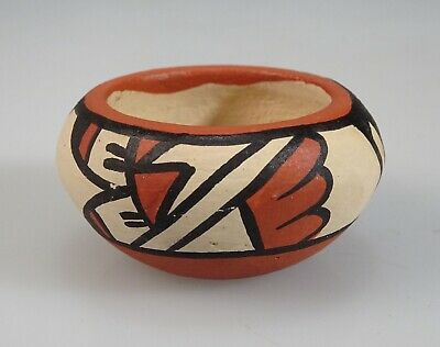 Chinana Jemez Pueblo Miniature Pot Pottery - 55076
