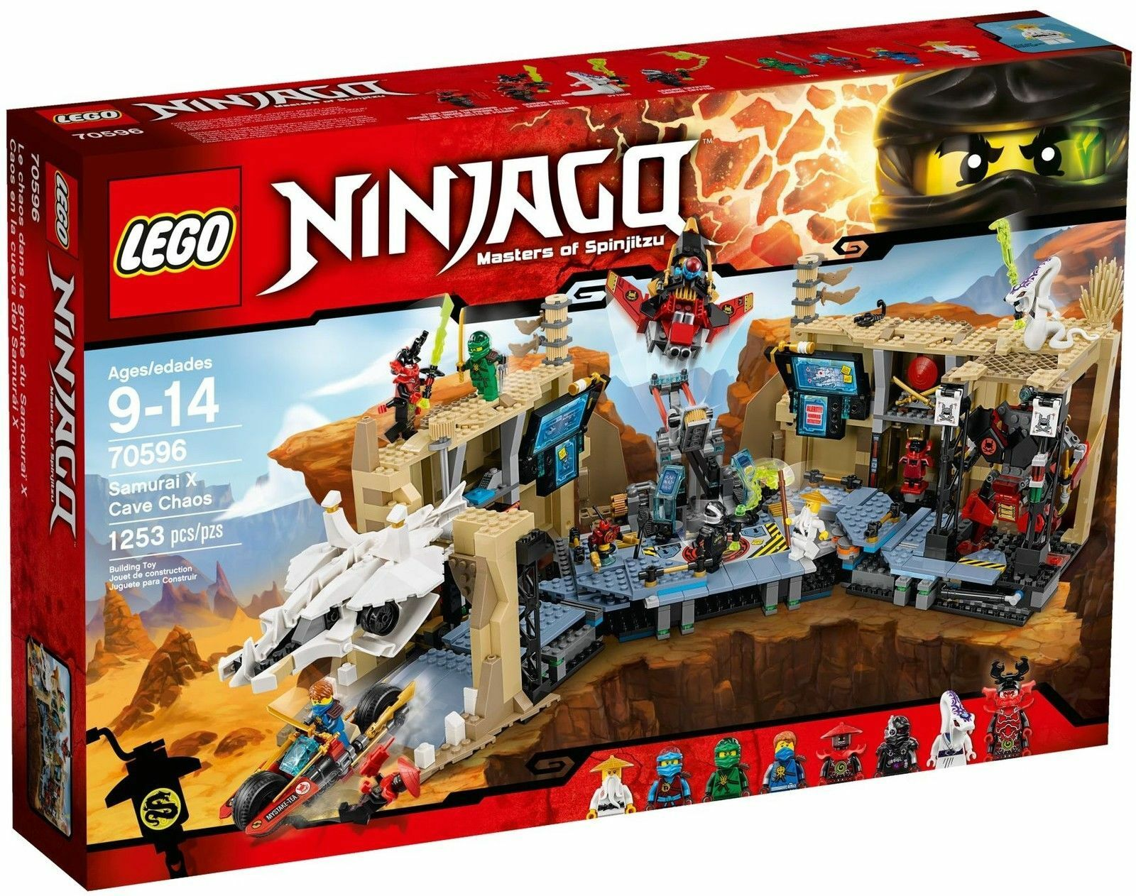 Lego Ninjago 70596 Samurai X Höhlenchaos Günstig Kaufen Ebay
