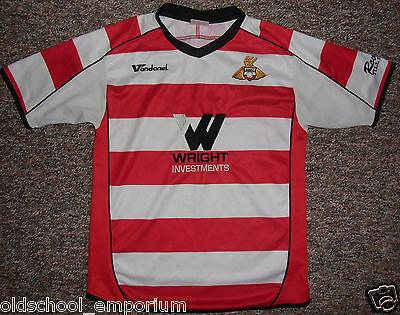 Doncaster Rovers/2008-2009 Home - VANDANEL - JUNIOR Shirt/Jersey. YL, 30/32
