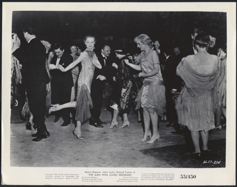 The Man Who Loved Redheads '55 MOIRA SHEARER PATRICIA CUTTS DANCING