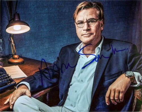 Aaron Sorkin The West Wing Writer Signed Autographed 8x10 Photo EXACT Proof JSA