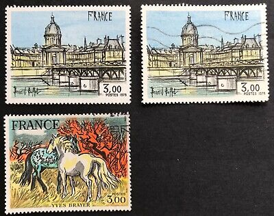 1978 France Philatelic Creations 3f Compl Set of 2 Mint/USED SG 2249-50