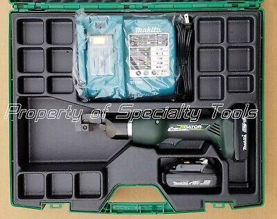 Greenlee Gator Ets12l Battery Operated Bolt Lock Cutter Wire Shelf Cutting Tool