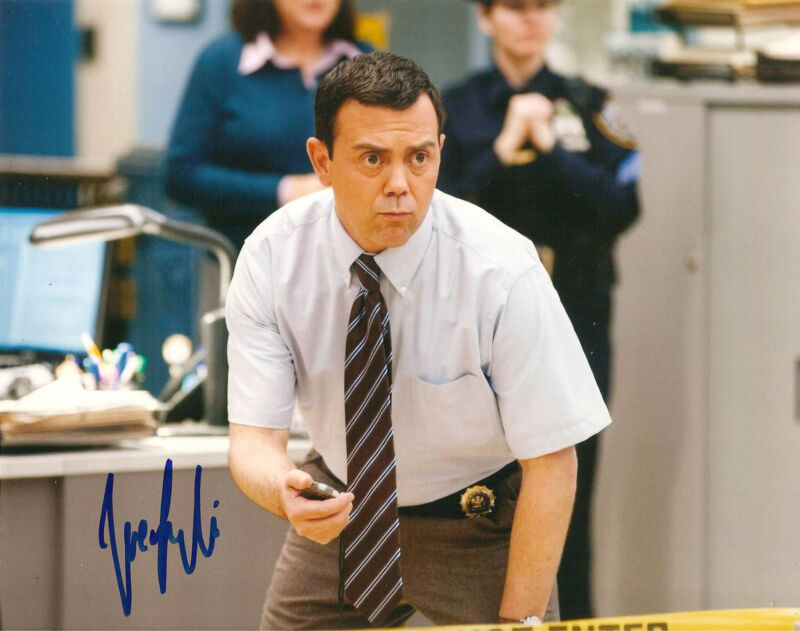 JOE LO TRUGLIO SIGNED 8x10 PHOTO EXACT PROOF COA AUTOGRAPHED BROOKLYN NINE NINE