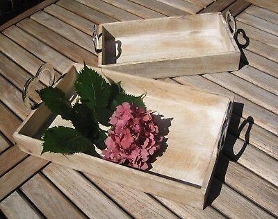 Großes Tablett Aus Holz (Großes Tablett
