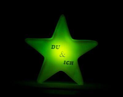 LED Nachtlicht Stern / Personalisiert / Farbwechsel / Schlaflicht / Tischdeko