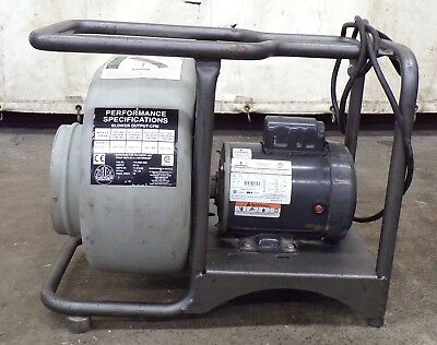 Air Systemscentrifugal Confined Space Electic Blower Svb-e8 115230 Volt