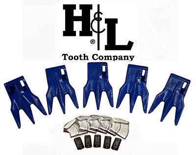 233tr3 Bucket Teeth By Hl Fits 230 Series Adapters Hammerless Conversion 233