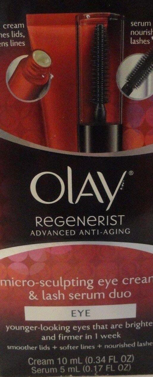 Olay Regenerist Micro Sculpting Eye Cream & Lash Serum Duo A