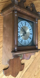 Vintage Hamilton 31 Day Windup Wall Clock(Key Included)
