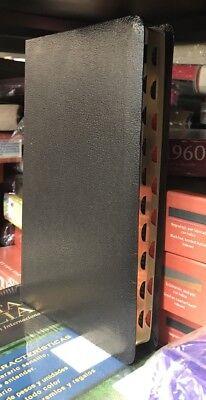 Biblia del Ministro reina valera 1960 con indice piel imitacion negro