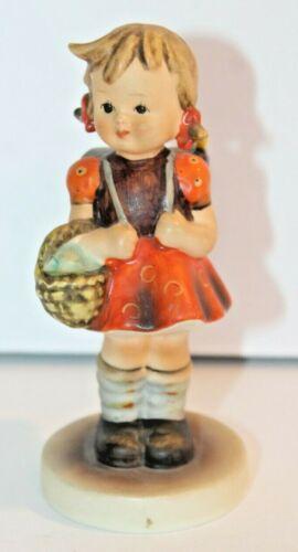 Vintage Goebel Hummel Figurine School Girl w/ Backpack & Basket 81 2/0