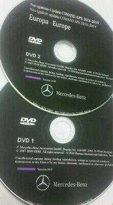 Mercedes Benz GPS Navigation COMAND APS NTG4 DVD1+ DVD2 EUROPA SLS GLK C-Klasse