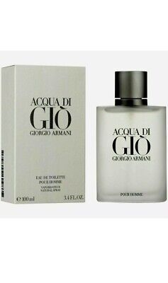 Aqua Acqua Di Gio Eau de Toilette 3.3 / 3.4 by Giorgio Armani Men NEW