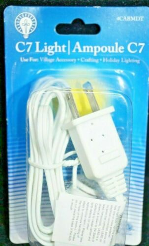 VILLAGE HOUSE LIGHT BULB & POWER CORD SOCKET REPLACEMENT INDOOR / OUTDOOR NEW