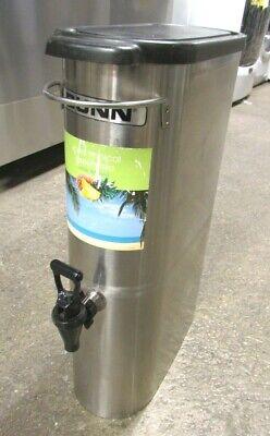 Bunn Commercial Beverage Iced Tea Coffee Dispenser 3.5 Gallon Tdo-n-3.5 Used