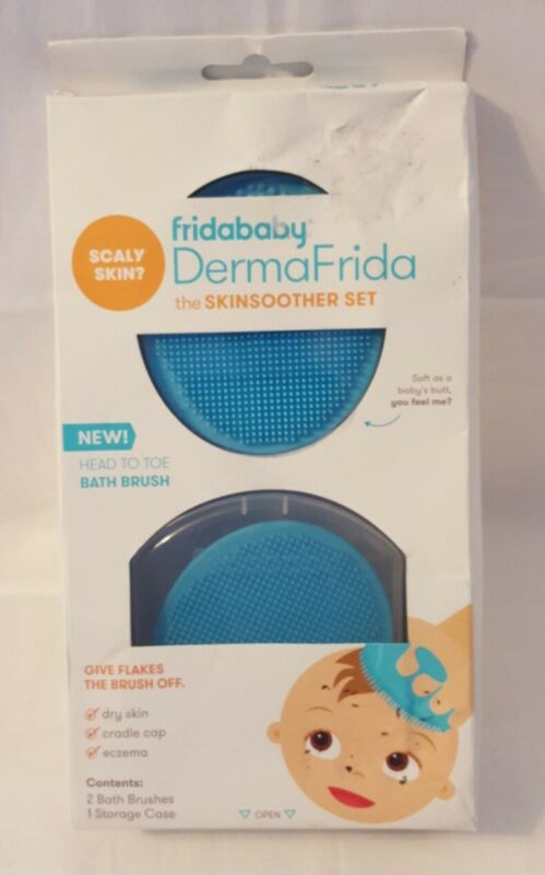 Fridababy DermaFrida the SkinSoother With Storage Case - Blue - 2 Pack