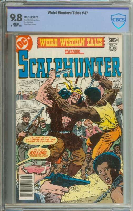 WEIRD WESTERN TALES #47 CBCS 9.8 WHITE PAGES