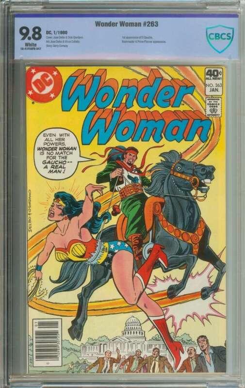 WONDER WOMAN #263 CBCS 9.8 WHITE PAGES
