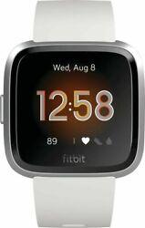 Fitbit Versa Lite Edition Smart Watch FB415SRWT White One Size  S & L Bands