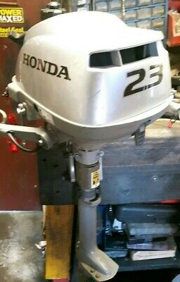 Honda 2.3hp 2012 4 stroke outboard motor serviced with warranty